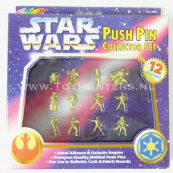 Push Pin Collector Set MIB Punaise Star Wars Micro Machines SHARP NO TOY!