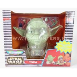 Star Wars Micro Machines Yoda Head Ideal - Best Display Box