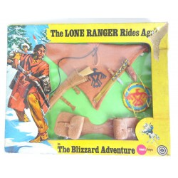 Blizzard Adventure MIB - Marx Toys - The Lone Ranger Hubley Gabriel