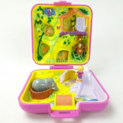 Wild Zoo World 1989 - Polly Pocket Bluebird vintage