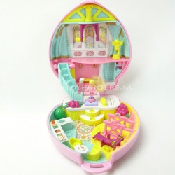 Stylin' Workout - Happenin' Hair 1995 - Polly Pocket Bluebird vintage