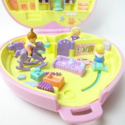 Perfect Playroom - Babysitting Collection 1994 Complete - Polly Pocket Bluebird vintage