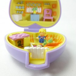 Pretty Bunnies - Pet Parade 1993 - Polly Pocket Bluebird vintage