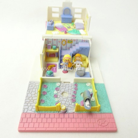 Cozy Cottage Pollyville 1993 - Polly Pocket Bluebird vintage