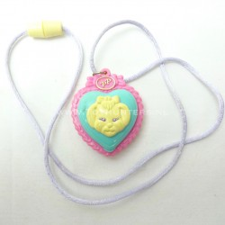 Polly's Puppy Pendant - Pet Collection 1994 - Polly Pocket Bluebird vintage