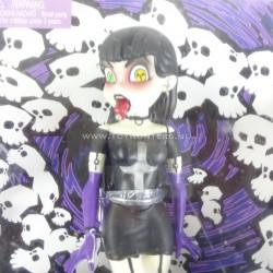Belladonna - Goths 7 inch Doll BeGoths 2003 Bleeding Edge