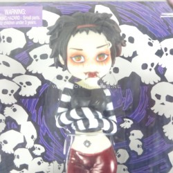 Ophelia Pain - Goths 7 inch Doll BeGoths 2003 Bleeding Edge