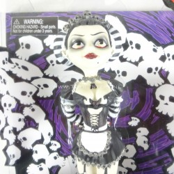 Eva Destruction - Goths 7 inch Doll BeGoths 2003 Bleeding Edge