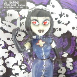 Nurse Hypochondrianna - Goths 7 inch Doll BeGoths 2003 Bleeding Edge