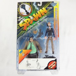 Twitch & Sam - Spawn McFarlane Toys 1997 German card