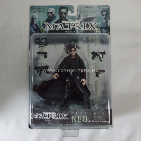 Neo - The Matrix N2 Toys 1999 WB Warner Brothers