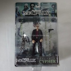 Cypher - The Matrix N2 Toys 1999 WB Warner Brothers
