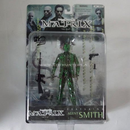 Agent Smith - code variant The Matrix N2 Toys 1999 WB Warner Brothers