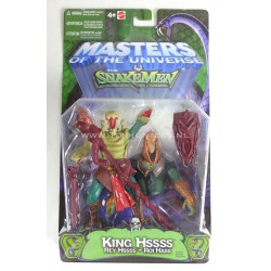 King Hiss - Masters of the Universe 200X Mattel He-man MOTU