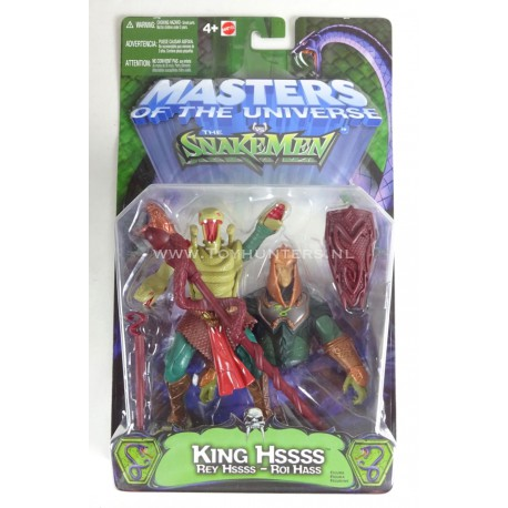 King Hiss - Masters of the Universe 200X Mattel He-man MOTU