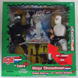 Ninja Showdown - Snake Eyes vs Storm Shadow GI Joe Hasbro 2003