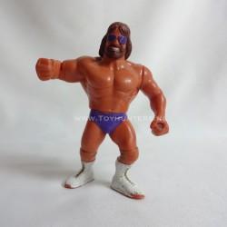 """Macho King Randy Savage v2 - Series 2 - 1991 """"KING"""" version WWF Hasbro"""