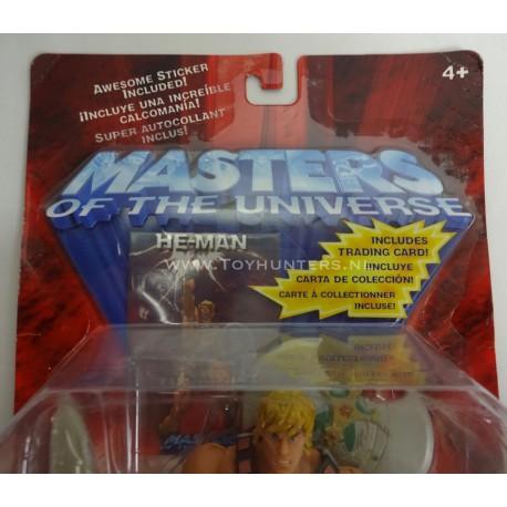 He-man K-Mart exclusive w/ Trading Card MOC 200X