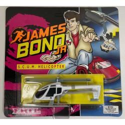 S.C.U.M. Helicopter MOC - James Bond Jr ERTL 1992